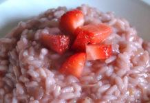 Ricetta afrodisiaca - Risotto alle fragole